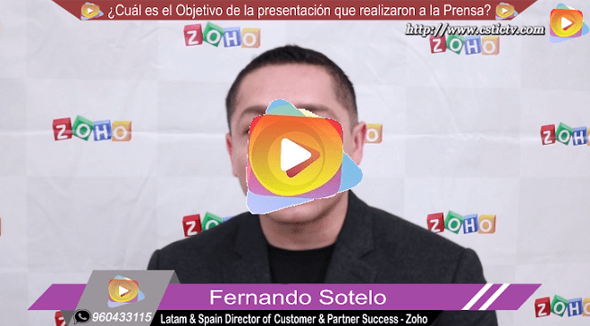 Entrevista: Fernando Sotelo Director de ZOHO, sobre Commerce Plus en Perú.