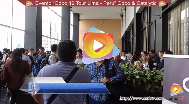 Evento: Odoo 12 Tour – Lima Perú