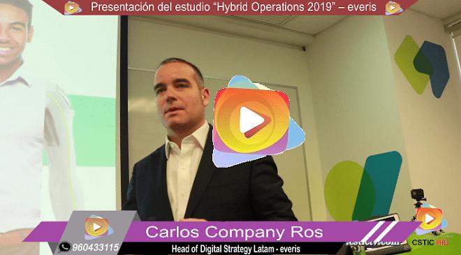"""Presentación del estudio """"Hybrid Operations"""" por everis"""